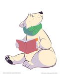 Polar Bear Reading
